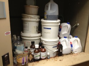 Hazardous waste to be removed by MLi Environmental