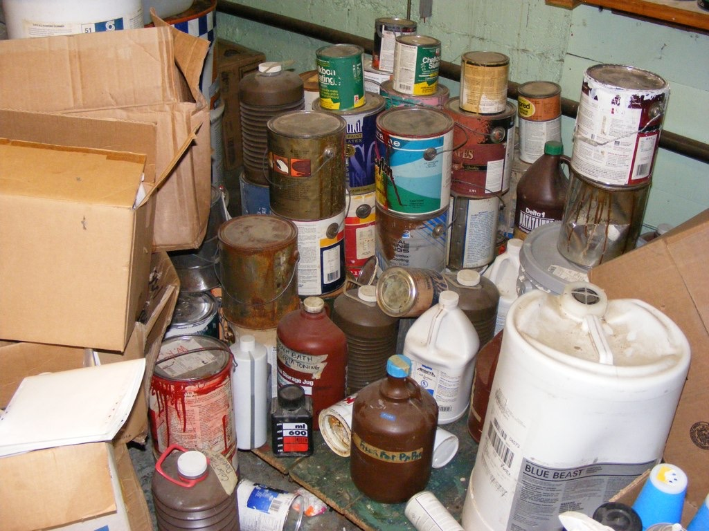 Improper Handling of Hazardous Waste Storage Containers
