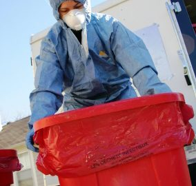Bio-hazardous Waste Container | Hazardous Pharmaceutical Waste