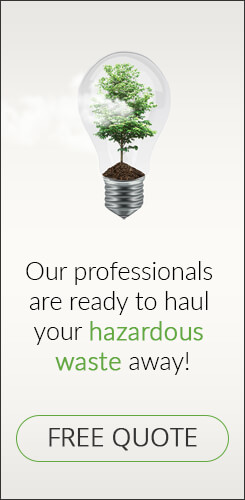 Get your free hazardous waste quote