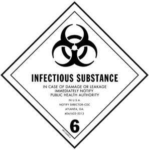 Dangerous Goods Classifcation 6 - Infections substance