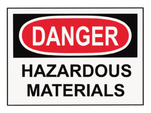 Danger Hazardous Material
