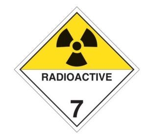 Dangerous Goods Classifcation 7 - radioactive