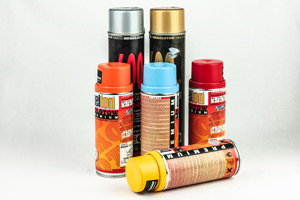 Household Spray Cans