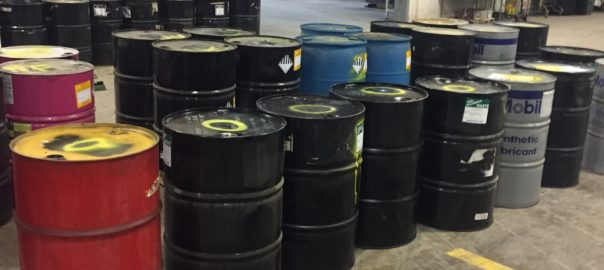drums of waste | hazardous waste generators